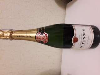 Игристое вино Brut Reserve Taittinger 0.75л