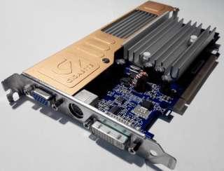 Nvidia GeForce 8400GS (Gigabyte)/PCi-E/256МB GDDR2/DVI/VGA/TVO title=