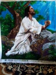 """Картина із бісеру""""Молитва Ісуса"""". title="""