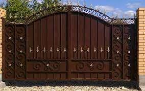 Кованые ворота в Кривом Роге,заказать ворота
