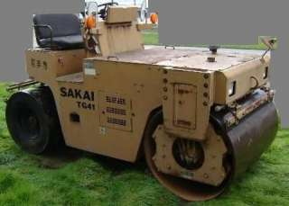 Продаем каток дорожный SAKAI TG-4...