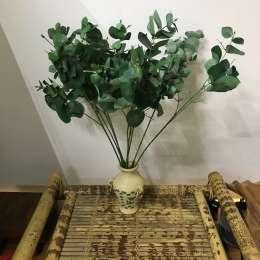 Искусственные цветы листья ветки title=