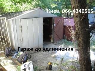 Пристройка к гаражу. Киев