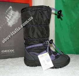 Сапоги-снегоходы зимние детские Geox оригинал производство Италия
