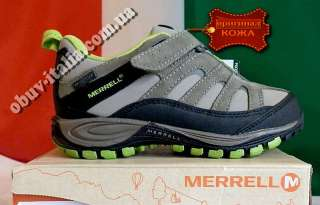 Кроссовки детские кожаные Merrell Chameleon 4 Z-RAP оригинал