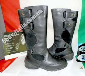 Сапоги детские кожаные демисезонные Geox оригинал из Италии
