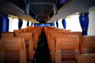 Обшивка перетяжка салона Neoplan Setra, перетяжка сидений автобуса  title=
