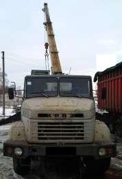 Продаем автокран ДАК КС-3575А-1, 14 тонн, КрАЗ 250, 1993 г.в. title=