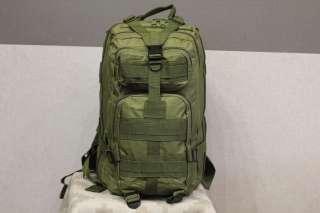 Тактический (городской) рюкзак Oxford 600D 25 литров M.O.L.L.E олива title=