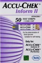 Купить тест-полоски для Accu-Chek Inform II Акку-Чек Информ 2 title=