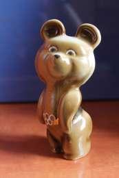 Статуэтка СССР Олимпийский медвежонок