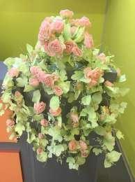 Искусственные цветы  title=