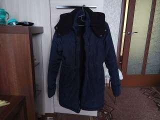Продам зимнюю куртку для беременных title=