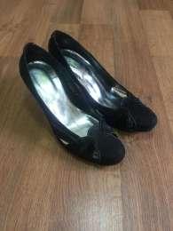 Босоножки, туфли, каблук, натурал...