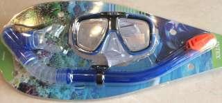 маска трубка для подводного плавания lntex