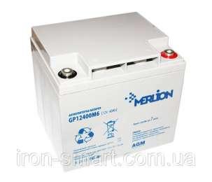 Аккумуляторные батареи MERLION GP (Мерлион)  4V 6V 12V для ИБП