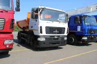 Новый самосвал МАЗ-4581N2-520-020