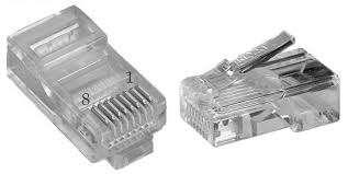 Коннектор RJ45 (от 100 шт) 450грн 1000 шт, Ужгород  title=