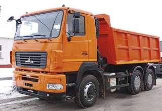 Новый самосвал МАЗ-6501V6-520-011