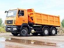Новый самосвал МАЗ- 6501С5-522-000