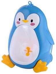 Писсуар для мальчиков Пингвин с мишенью, синий title=