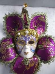 Шикарные настенные венецианские маски для вашего интерьера и в подарок title=