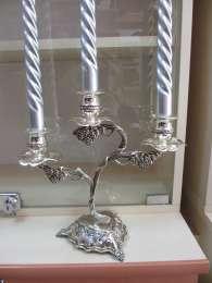 Шикарный подсвечник на 3 свечи для вашего интерьера и в подарок title=