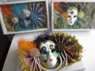 Изумительные декоративные венецианские маски для вас и в подарок title=