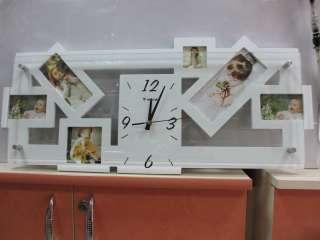 Красивые настенные часы сфоторамками для вас и в подарок title=
