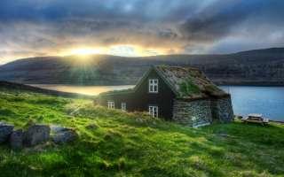 Домохозяйка на Исландскую ферму title=