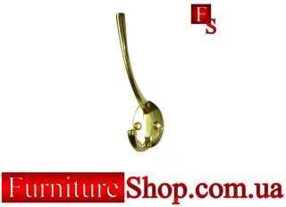 Гачок Індія латунь на FurnitureShop.com.ua