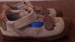 Кожаные туфли для мальчика р.34  title=