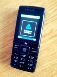 Мобильный Телефон Fly DS420 Black. title=