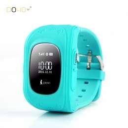 (код 446) GPS GPRS наручные смарт часы с функцией SOS, Anti потеря  title=
