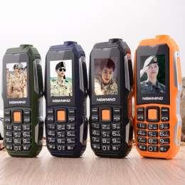 (код 444) Newmind F6000 Две карточки. Прочный мобильный телефон P176 title=