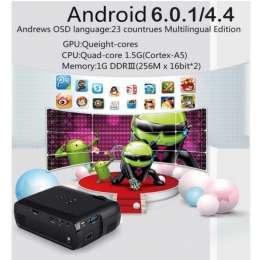 Светодиодный проектор WIFI Android 6 HD 1080P TV LED 3D