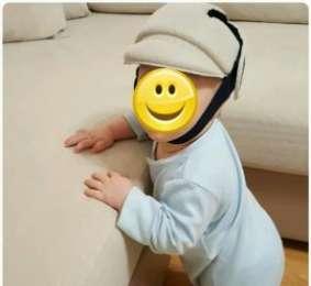 Защитный детский шлем для активных деток от столкновений title=