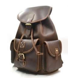 Рюкзак кожаный мужской OLD AMERICA CrazyHorse title=