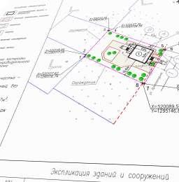 Схема планировочной организации земельного участка - СПОЗУ title=
