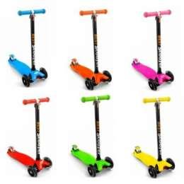 Самокат детский трехколесный Scooter Maxi 466-113 title=
