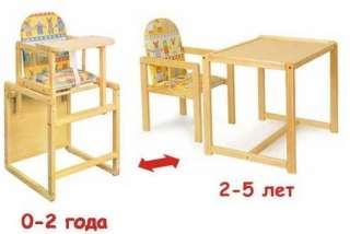 Детский стульчик для кормления трансформер Vivast № 2  title=