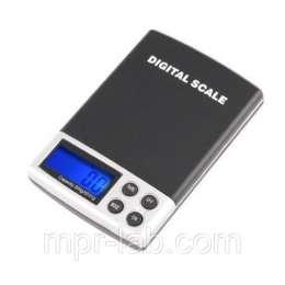 Весы цифровые DS-500 (0.1g /500g) с откидывающейся крышкой title=