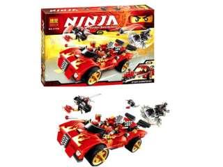 Конструктор Bela Ninja 9796 машина Перехватчик, машина Кая, дет. 425  title=