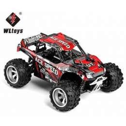 WLtoys 18404 1:18 4WD RC автомобиль Монстр-Трак RTR Красный title=