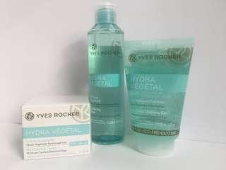 Hydra végétal  крем-гель  интенсивное увлажнение  Yves Rocher Ив Роше