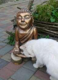 Скульптура Будда ,садовая скульптура , интерьер , декор title=