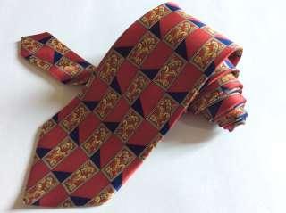 Редкий дорогой галстук Lanvin Франция шелк