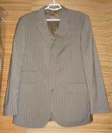 Пиджак блейзер серый Италия Vitale Barberis Canonico