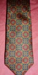 Редкий дорогой галстук Швейцария шелковый