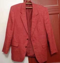 Красный пиджак блейзер Италия Bertolucci